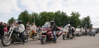 Raduno internazionale di Harley-Davidson Immagine Stock