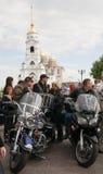Raduno internazionale di Harley-Davidson Fotografia Stock Libera da Diritti