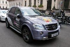 Raduno Londra il maggio 2010 di Gumball del codice categoria di Mercedes m. Fotografia Stock