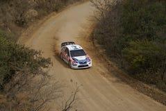 RADUNO MESSICO 2007 DELLA CORONA DI WRC Fotografie Stock Libere da Diritti