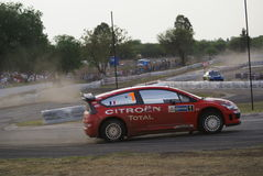 RADUNO MESSICO 2007 DELLA CORONA DI WRC Immagini Stock Libere da Diritti