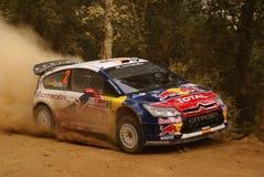 Raduno Messico della corona di WRC Dani 2010 Sordo Fotografie Stock
