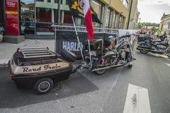 Raduno nazionale Halden, Norvegia 12 del MAIALE al 15 giugno 2014 (bici) Fotografie Stock