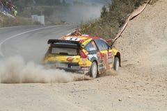 Raduno Portogallo di WRC Fotografie Stock Libere da Diritti