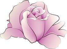 Radura della Rosa royalty illustrazione gratis