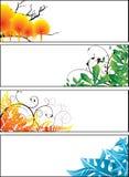 Radura floreale della fascia royalty illustrazione gratis