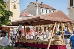 Radvansky jarmok στο bystrica banska στοκ φωτογραφίες