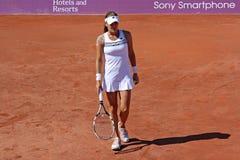 Radwanska wins 2012 WTA Brussels Open Royalty Free Stock Photography
