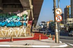 Radweg Lizenzfreie Stockbilder