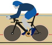 Radweg-Sport Lizenzfreie Stockfotografie