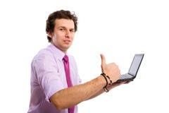 radzi zatwierdza dobrego poleca stronę internetową Zdjęcia Stock