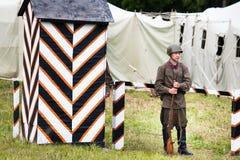 Radzieccy żołnierze drugi wojna światowa Fotografia Stock