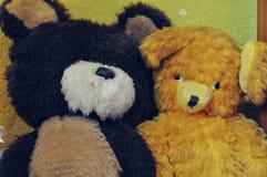 Radzieccy rocznik zabawki niedźwiedzie Obrazy Royalty Free