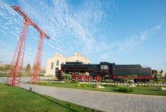Radziecka lokomotywa Fotografia Royalty Free
