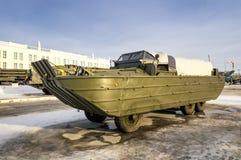 Radziecki broń eksponat militarny historyczny muzeum, Verkhnyaya Pyshma, Yekaterinburg, Rosja, g 09 05 2016 Fotografia Royalty Free