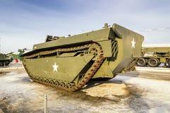 Radziecki broń eksponat militarny historyczny muzeum, Verkhnyaya Pyshma, Yekaterinburg, Rosja, g 09 05 2016 Obraz Royalty Free