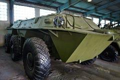 Radziecki eksperymentalny opancerzony samochód ZIL-153 Zdjęcia Stock