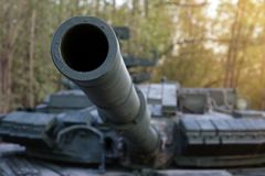 Radziecki główny batalistyczny zbiornik Ja tworzył w wczesne lata 60 w Kharkov projekta biurze Morozov bojowe cysternowe bronie Zdjęcie Stock