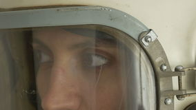 Radziecki kosmonauta mówienie zdjęcie wideo