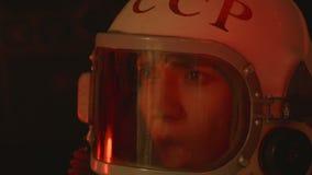 Radziecki kosmonauta w bólu zbiory