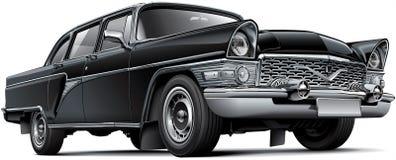 Radziecki luksusowy samochód ilustracji