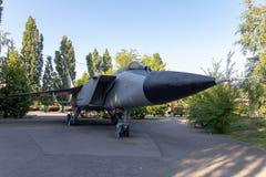 Radziecki naddźwiękowy dalekonośny interceptor wojownik fotografia royalty free