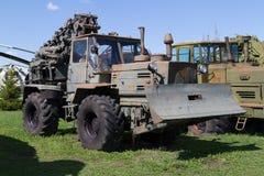 Radziecki pojazd wojskowy ciągnik Zdjęcie Stock