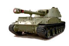 Radziecki samojezdny granatnik Obrazy Royalty Free