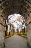 Radziecki Wojenny pomnik w Treptower parku, Berlin, Niemcy panorama Obraz Royalty Free