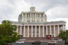 Radziecki wojska Theatre w Moskwa obrazy royalty free