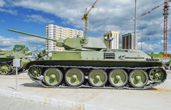Radziecki zbiornik T-34/57 Zdjęcia Stock