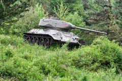 Radziecki zbiornik T-34 od drugiej wojny światowa, Sistani Obraz Stock