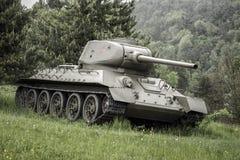 Radziecki zbiornik T-34 od drugiej wojny światowa, Sistani Zdjęcie Royalty Free