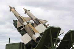 Radziecki ziemia-powietrze system rakietowy Obraz Stock