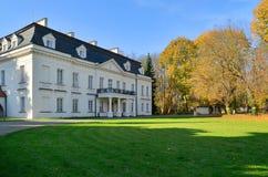 Radziejowice pałac (Polska) Obraz Royalty Free