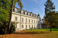 Radziejowice Palace (Poland). Representative building was founded in the fifteenth century. Was rebuilt several times. The present palace dates from the late Stock Image