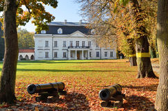 Radziejowice slott (Polen) Arkivbild
