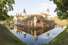 Radziwill castle in Nesvizh, Belarus Royalty Free Stock Photography