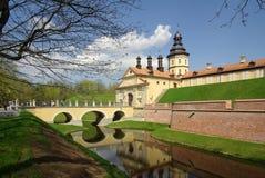 Radziwill castle in Nesvizh, Belarus Stock Image