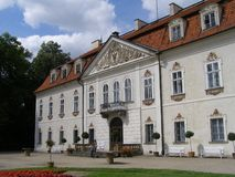 Radziwill family palace, Nieborow, Poland Royalty Free Stock Images