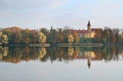 Radziwill palace in Nesvizh Stock Photo