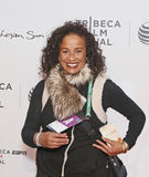 "Rae Dawn Chong. Film actress Rae Dawn Chong arrives on the red carpet for the world premiere of ESPN Films' ""When The Garden Was Eden,"" at the Tribeca Royalty Free Stock Image"
