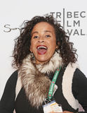 "Rae Dawn Chong. Film actress Rae Dawn Chong  arrives on the red carpet for the world premiere of ESPN Films' ""When The Garden Was Eden,"" at the Tribeca Stock Photo"