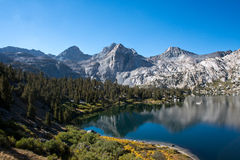 Rae Lakes on the John Muir Trail Stock Image