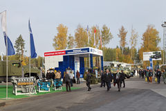 RAE-2013. NIZHNY TAGIL, RUSSIA - SEP 25, 2013: The international exhibition of armament, military equipment and ammunition RUSSIA ARMS EXPO (RAE-2013 Stock Photos
