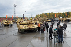 RAE-2013. NIZHNY TAGIL, RUSSIA - SEP 26, 2013: The international exhibition of armament, military equipment and ammunition RUSSIA ARMS EXPO (RAE-2013 Stock Photos