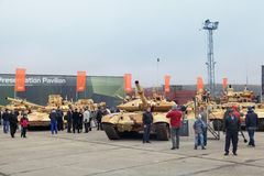 RAE-2013. NIZHNY TAGIL, RUSSIA - SEP 24, 2013: The international exhibition of armament, military equipment and ammunition RUSSIA ARMS EXPO (RAE-2013 Royalty Free Stock Image