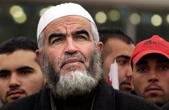 Raed Salah -伊斯兰教的运动领导 图库摄影