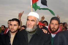 Raed Salah - chef islamique de mouvement Photographie stock libre de droits