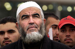 Raed Salah - Islamski ruchu lider Fotografia Stock